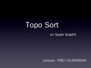 Spark GraphX - SJTU CS