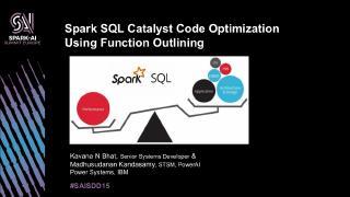 Spark SQL Catalyst代码优化