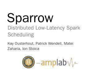 Sparrow Spark Shark