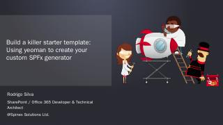 SPS - Build a starter template with yeoman.pptx