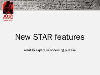 STAR-New-Features-Novak