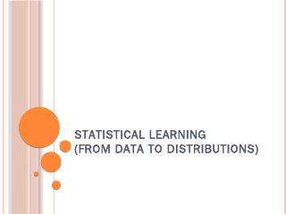 Statistical learning - Duke