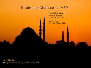Statistical Method in HEP - CERN Indico