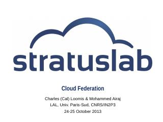 StratusLab Cloud Distribution - IN2P3