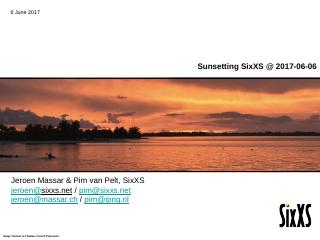Sunsetting SixXS