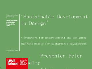 Sustainable Development in Design.pptx