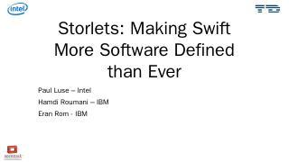 Swift - OpenStack