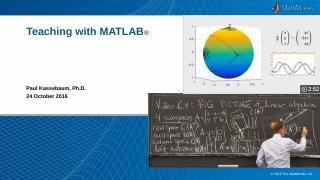 Teaching With MATLAB - cloudfront.net