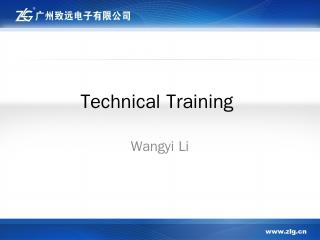 Technical Training - ...