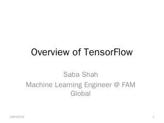TensorFlow - WordPress.com