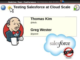 Testing Salesforce at Cloud Scale - CloudBees