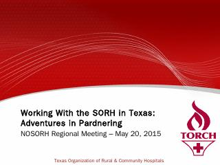 Texas Organization of Rural and Community Hos...