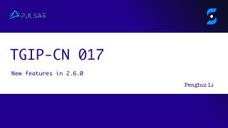 TGIP-CN 017:What's ne...