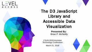 The D3 JavaScript Library and Accessible Data...