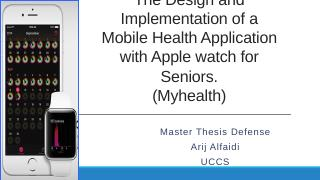 The design and implementation of Mobile healt...