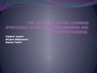 The different active learning strategies in S...