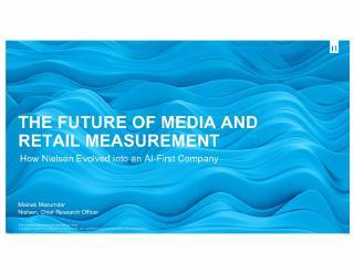 AI先行打造媒体和零售数据分析的未来