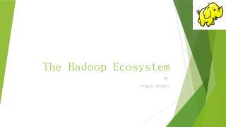 The Hadoop Ecosystem - Villanova Computer Sci...