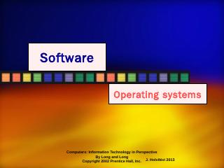 The Operating System - Personal web pages for...