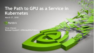 The path to GPU as a Service