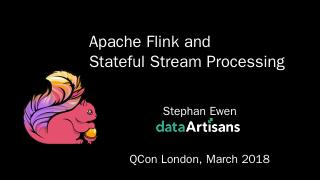 The world according to Flink - QCon London