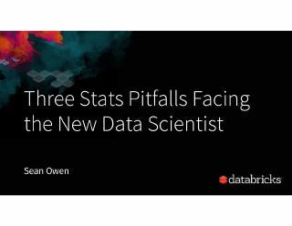 three stats pitfalls facing the new data scie...