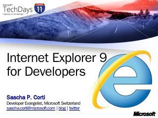 Title of presentation - Microsoft Download Ce...