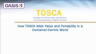 tosca - OASIS Open