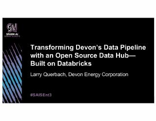 transforming devonu2019s data pipeline with a...