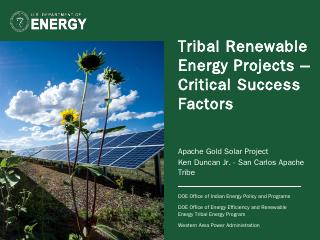 Tribal Renewable Ener...