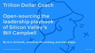 Trillion Dollar Coach Open-sourcing the leade...