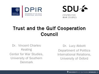 Trust and the Gulf Cooperation Council