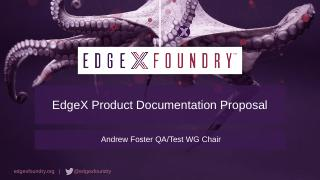 TSC Meeting - EdgeX Foundry