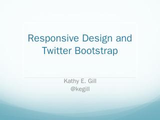 Twitter Bootstrap PPT - WiredPen