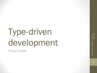 type-safe API internally - Webcourse