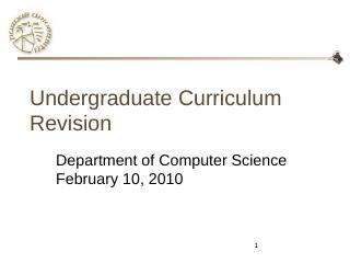 Undergrad Curriculum Redesign: Reasons - Purd...