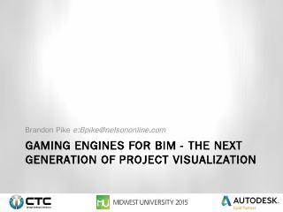 Unity 3D Showcase Revizto Fuzor SmartReality ...