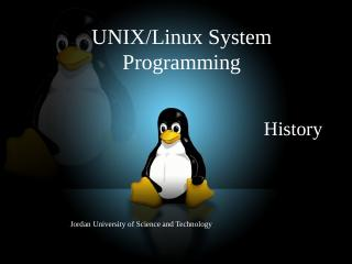 UNIX/LINUX System Programming - NMSU Computer...