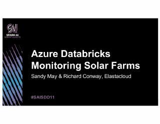 using-azure-databricks,structured streaming, ...