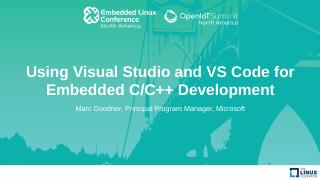 Using Visual Studio and VS Code for Embedded ...