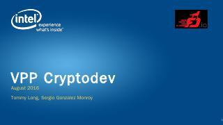 VPP Cryptodev - FD.io Wiki Page