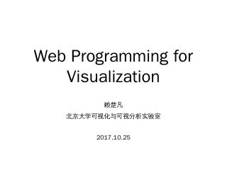 Web-Based Programming...