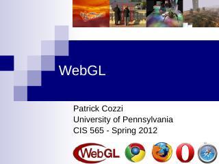 WebGL - CIS 565