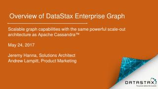 Webinar - Bringing connected graph data to Ca...