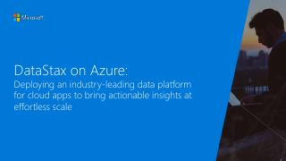 DataStax on Azure: Deploying an industry-lead...