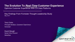 Webinar Featuring Forrester Customer Experien...