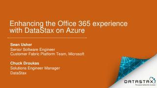 Webinar - Microsoft Office 365 Enhancing cust...