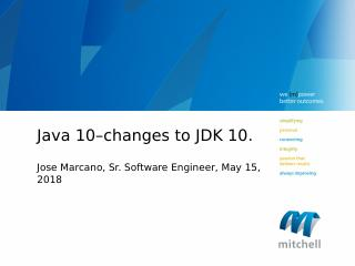 What is New In Java 10