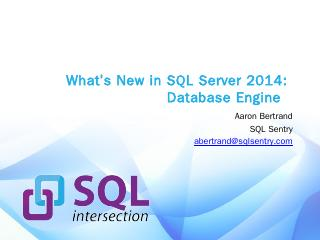 Whats New in SQL Server 2014 - SQLPerformance...