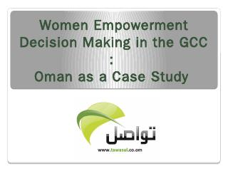 Women Empowerment in Decision Making in the A...